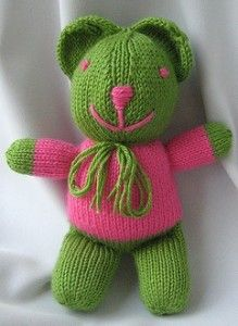 Knitted bears...