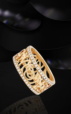 Chanel - 18k pink gold & diamonds