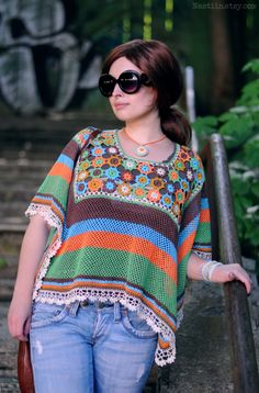 Great crochet outfit for summer