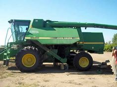 John Deere 9600 combine salvaged for used parts. Millions of new, rebuilt and used parts in our 7 huge salvage yards. For parts call 877-530-4430 or http://www.TractorPartsASAP.com
