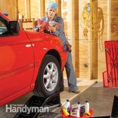 How to Change Car Oil: Regular oil changes prolong the life of your car. Save time and money by doing this 20-minute job yourself. Here's how: http://www.familyhandyman.com/automotive/diy-oil-change/how-to-change-car-oil/view-al