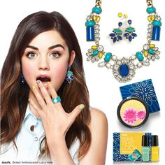 Lucy Hale and her favorite things for spring!