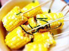 Corn on the cob #vegan #sidedishes