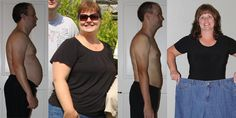Another couple, another amazing Body by Vi transformation.