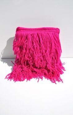 anaïse | a détacher hairy pillow