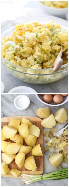 How to make the Best Potato Salad #recipe on foodiecrush.com