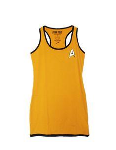 Star Trek Command Gold Dress