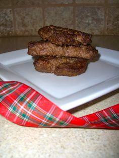 Tartan Tastes in Texas: Scottish recipes -Scottish Lorne Sausage