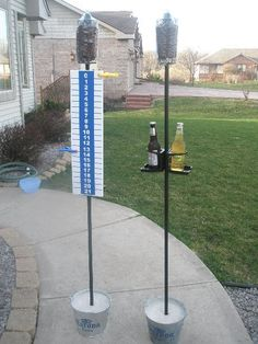 Yes! Need these corn hole score boards, much better then the plywood!