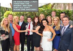 The Real Housewives of Beverly Hills... SEE how they despise each other?