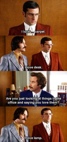 lamps, funny movies, anchorman quotes, quotable movies, brick anchorman