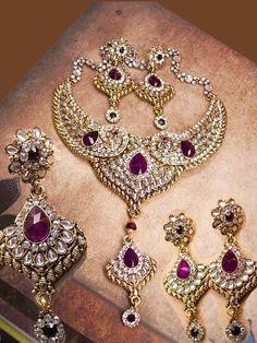 Exotic statement necklace  500 rhinestone Bib  by vintagesparkles, $275.00