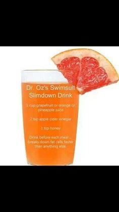 Dr. Oz's recipe