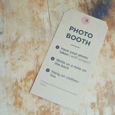 5 Kraft Custom Signs - Welcome, Guestbook or Photo Booth for Rustic Weddings
