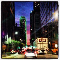 Dallas Texas sunset