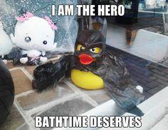 I'm Bathman.