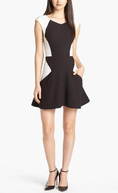 Professional, yet stylish Fit & Flare Dress