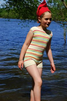 Summer Sewing ~ Free Swimsuit Pattern + Tutorial | Sew