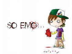 Dibujos de emo 3