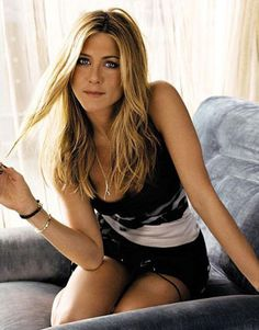 beach waves, jennifer aniston, angelina jolie, blond, bangs
