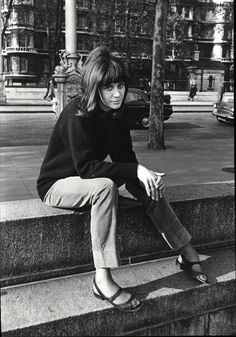 A young Vashti Bunyan photographed by Tony Gibson, ca. 1965.