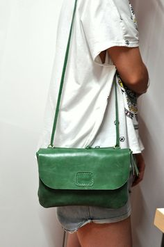 Lady's  Purse/Tote handmade Leather bag by LeatherStory on Etsy, $98.00