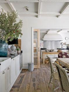 [Interior] Una villa de estilo español con toques de mansión de campo   Decorar tu casa es facilisimo.com