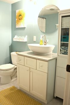 Wall Color: Behr's Gulf Winds