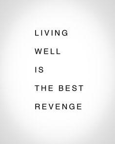 Living well....