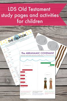 These are tons of great printable study pages for children.  They don't just learn the stories but also tons of study techniques! printabl