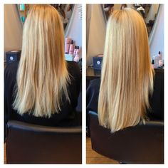Before and after using Cabella haircare! We cannot stop raving about this AMAZING line!  www.blog.sindulge.com