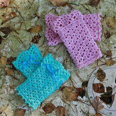 crochet wrist warmer pattern on Etsy, a global handmade