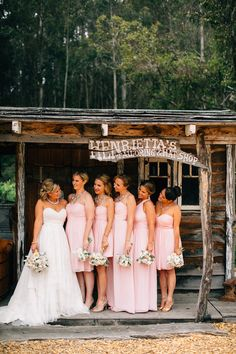 cute bridesmaid shot, photo by Jen Rodriguez http://ruffledblog.com/half-moon-bay-california-wedding #bridesmaids