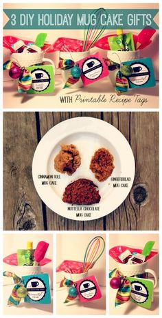 Mug Cakes | 15 Easy Gifts You Can Put In A Mug