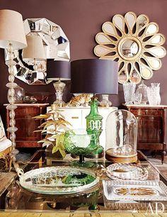 An artful assortment of antiques and vintage pieces at Maison Trois Garçons.