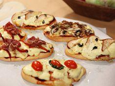 Recetas | Pizzas rápidas con pan árabe | Utilisima.com