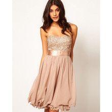 Little Mistress Floral Applique Prom Dress