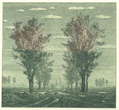 galleries, 1997, etchings, evenings