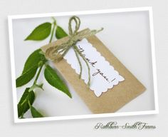 Eco Wedding Flower Seed Favors!