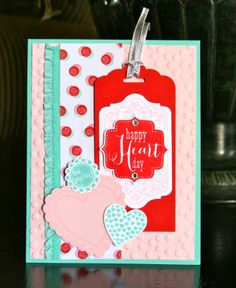 Stampin' Up! Valentine by Krystal's Cards and More: Happy Heart Day!