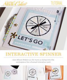 interactive spinner tutorial with Allison Waken @studio_calico