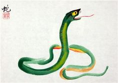 Those born in the year of the snake are born charming and popular. Snakes are spotlight magnets, and they will not be ignored. Yet Snakes are never noisy or deliberately outspoken, and they have have excellent manners.