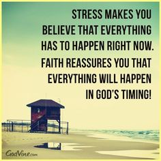 stress makes you believe