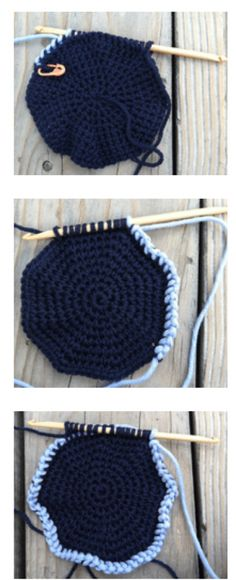How to Tunisian #Crochet in the Round via @crochetme