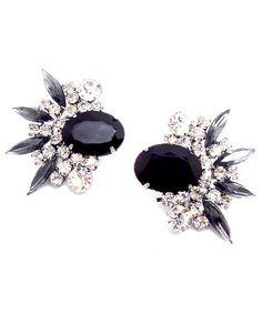 Crystal Black Earring  https://shoplately.com/product/172845/crystal_black_earring