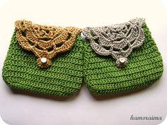 hamoraima: Monederos de crochet 4
