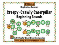 Beginning sound caterpillars.
