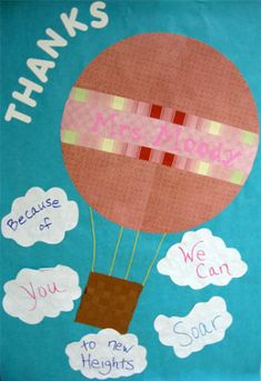 This site has tons of great ideas for teacher appreciation week and teacher gifts.
