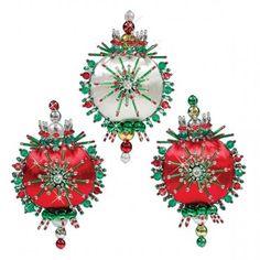 Mary Maxim - Holiday Trio Ornaments - New Items