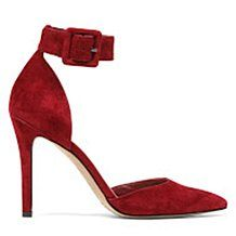 """Jessica Simpson """"Cayna"""" Ankle-Strap Suede Pump"""